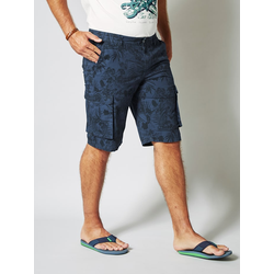 Cargo Bermuda Men Plus Blau