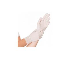 Cleanclub Einmalhandschuhe - Nitril puderfrei - S (weiß) 1 Box = 200 Stück