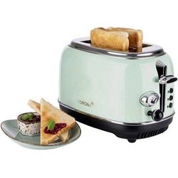 Korona Retro 21665 Toaster mit Brötchenaufsatz Mint
