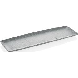Q Squared NYC Servierplatte, (1 tlg.), 53x16,3 cm grau Servierplatten Geschirr, Porzellan Tischaccessoires Haushaltswaren Servierplatte