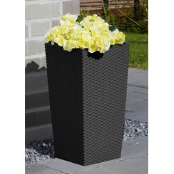 Prosperplast Blumentopf Rato Square 325, BxTxH: 33x33x61 cm