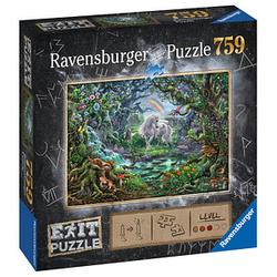 Ravensburger EXIT PUZZLE Einhorn Puzzle 759 Teile
