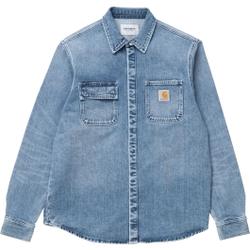 Carhartt Wip - Salinac Shirt Jac Blue - Hemden - Größe: S