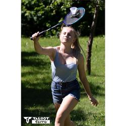Talbot-Torro Badmintonschläger Talbot-Torro Badminton Set 2-Fighter Pro