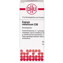 CUPRUM METALLICUM C 30 Globuli 10 g