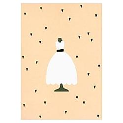 Kartenset, Brautkleid