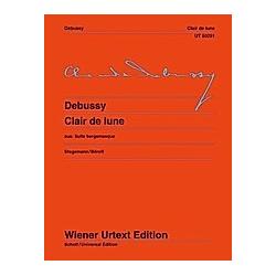 Clair de Lune  Klavier. Claude Debussy  - Buch