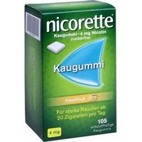 NICORETTE Freshfruit 4 mg Kaugummi 105 St.