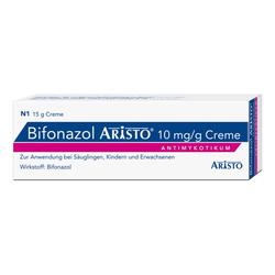 BIFONAZOL Aristo 10 mg/g Creme 15 g