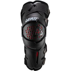 Leatt Z-Frame Motocross Knieprotektor, schwarz, Größe L