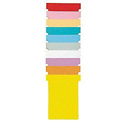 Nobo T-Steckkarten 1.5 Rosa 4,5 x 5,3 cm 100 Stück