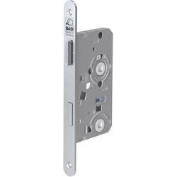 Basi 9350-5531 Einsteck-Zimmertürschloss Silber