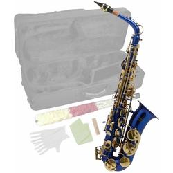 Steinbach Saxophon Steinbach Eb Alt-Saxophon in Blau mit hohem FIS
