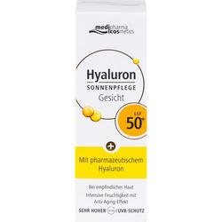HYALURON SONNENPFLEGE Gesicht Creme LSF 50+ 50 ml