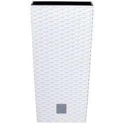Prosperplast Blumentopf Rato Square 2er Set (2 Stück), 17x17x27cm