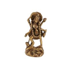 Guru-Shop Dekofigur Messingfigur, Statue Kali 11 cm - Motiv 5