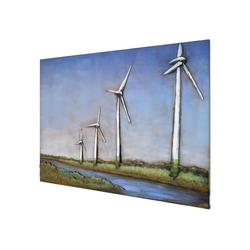 MÖBEL IDEAL Metallbild Windmühlen, Windmühlen
