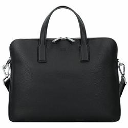Boss Crosstown Aktentasche Leder 37 cm black