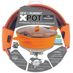 Sea to Summit X Pot Medium - Kochtopfset Orange