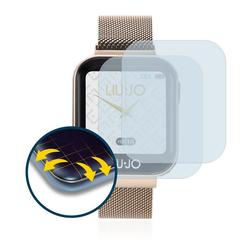 BROTECT Schutzfolie für Liu Jo Smartwatch, (2 Stück), Full-Cover 3D Curved klar