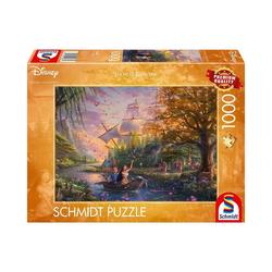 Schmidt Spiele Puzzle Puzzle Disney, Pocahontas, 1.000 Teile, Puzzleteile