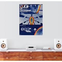 Posterlounge Wandbild, Leinwandbild 2001: Odyssee im Weltraum 50 cm x 70 cm