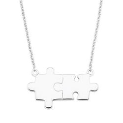 Amor Kette mit Anhänger Puzzle, 2027361