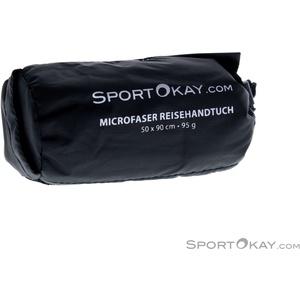 SportOkay.com Towel M Microfaser Handtuch-Blau-M