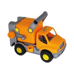WADER QUALITY TOYS Spielzeug-Auto ConsTruck Müllwagen