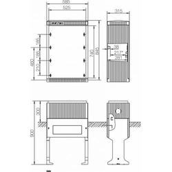 ABN Hochwassersockel Gr.0 FB2 SX030