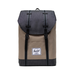 Rucksack HERSCHEL - Retreat Timberwolf-Black Denim (04514)