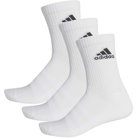 adidas Cushioned Crew 3er Pack white/white/black