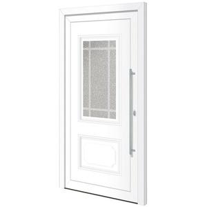 RORO Türen & Fenster Haustür Otto 8, BxH: 110x210 cm, weiß, ohne Griff