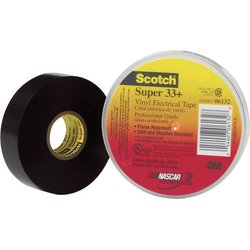 3M Super 33+ SUPER33+-19X6 Isolierband Scotch® Super 33 Schwarz (L x B) 6m x 19mm 1St.