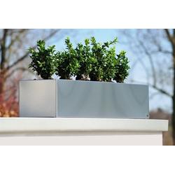 Radius Design Edelstahl 100 - Blumenkasten