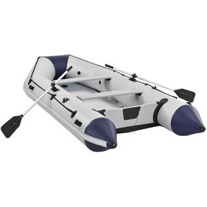 ArtSport Schlauchboot 3,80m mit 2 Sitzbänke, Aluboden, Paddel, Pumpe, Tasche & Reparaturset
