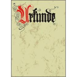 Designpapier Urkunde Calligraphi A4 185g/qm VE=12 Blatt