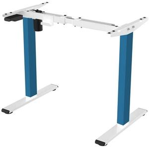 FLEXISPOT Schreibtisch E1 (1-St), Höhenverstellbarer Schreibtisch Elektrisch höhenverstellbares Tischgestell, 2-Fach-Teleskop, mit Memory-Steuerung, Farbe auswählbar blau