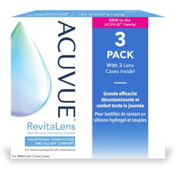 Acuvue Revitalens 3 x 360 ml