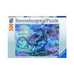 Ravensburger Puzzle Puzzle Eisdrache, 500 Teile, Puzzleteile
