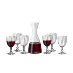BOHEMIA Wein-Set 7-teilig ¦ Kristallglas