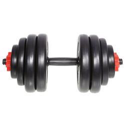SportPlus Kurzhantel SP-WS-015-V, 15 kg, (9-tlg)