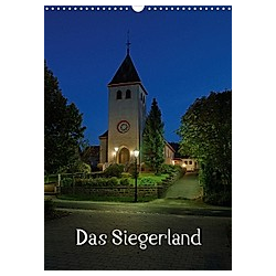 Das Siegerland (Wandkalender 2021 DIN A3 hoch)