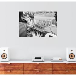 Posterlounge Wandbild, Jim Clark und sein Lotus 49 Ford, Zandvoort 1967 150 cm x 100 cm