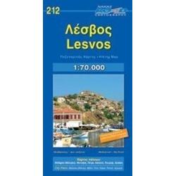 Lesvos (Lesbos) 1 : 70 000