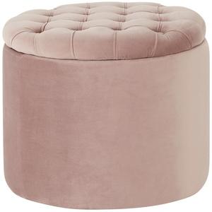 Collection by citamaass Hocker mit Stauraum  Felicita ¦ rosa/pink Ø: 55