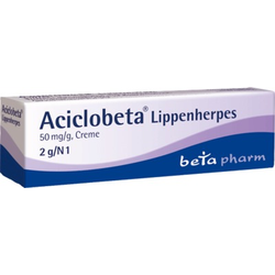 Aciclobeta Lippenherpes