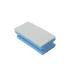Schwamm Topfreiniger Schwammpad 15 x 9,5 cm blau