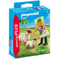 Playmobil Special Plus Bäuerin mit Schäfchen 9356