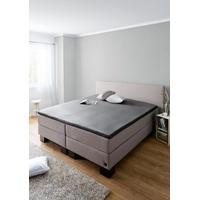 Schiesser Spannbettlaken Jersey-Elasthan Topper, mit einer hohen Formstabilität grau